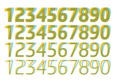 in use 4 #numbers #typography