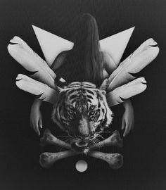 111182.jpg (831×952) #tiger #bones #girl