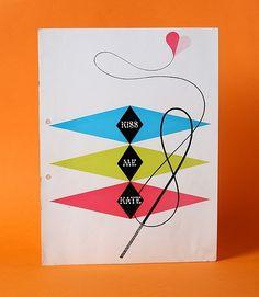 Javier Garcia #modern #diamond #illustration #mid #vintage #century #brochure