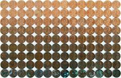Bob Dinetz Design #oxidation #order #photography #pennies