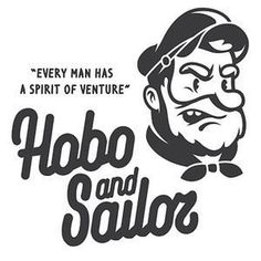 HOBO AND SAILOR on Vimeo #logo #character