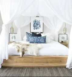 Bedroom, cool simple bed frame