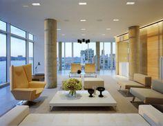 Hudson River Apartment in Manhattan by SheltonMindel