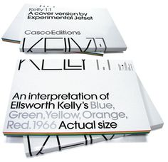 Kelly 1:1 - Experimental Jetset #design #graphic #typography