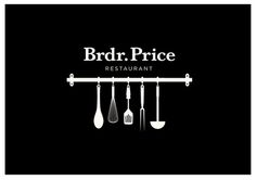 Brdr. Price Restaurant on Branding Served #logo #branding