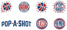New Logo and Identity for Pop-A-Shot by CODO Design