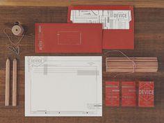 device creative collaborative #device #identity #branding #red