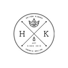 All sizes | HK - V.03 | Flickr - Photo Sharing! #crown #leaf #heitorkim #design #heitor #kimura #art #logo