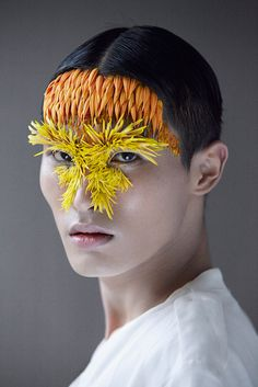 Varia — Design & photography related inspiration #yellow #orange #chinese #photography #portrait #flower #japan