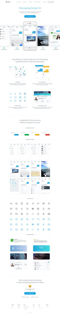 Layer - Messaging Design Kit