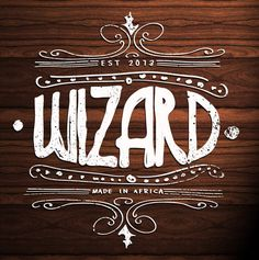 wizard #branding #africa #design #graphic #south #vintage #wizard #typography