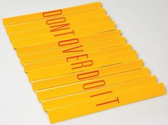 Portfolio of Joseph Thornton #mailers #design #typography