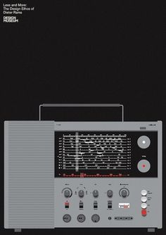 Bibliotheque Editions — Braun T 1000 Radio