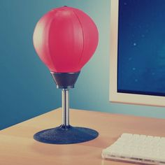Stress Buster Desktop Punching Ball #gadget
