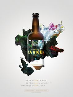 Upland Sour Ales: Darken #Upland #Sour #Beer #Bottle #Packaging #Cina #Poster