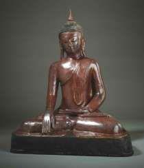 MEDITATIVE, SITTING BUDDHA