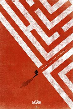Extra Large Movie Poster Image for The Maze Runner #maze runner #illustration #movie #poster #thriller #cinema