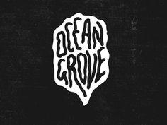 Ocean Grove Lettering