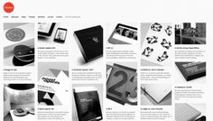 Effektive - Web design inspiration from siteInspire #website #grid #grey