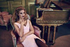 Erin Heatherton  for Elle Russia