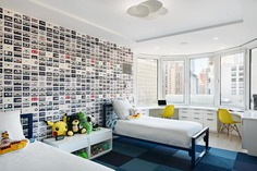 kids room by StudioLAB in New York City