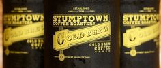 Stumptown Coffee Roasters - Home #bottle #packaging #print #single #color #vintage #graphics #style