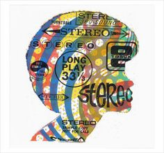 Print Mafia - Famous Stereo #print #mafia #art