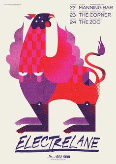 electrelane_01.jpg #electrelane #wbyk #poster