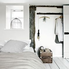 Cottage in Cornwall #bedroom #interior