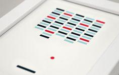 Matthew Hancock #print #art #game #scrabble #frame #matthew hancock #ludographica #peggle #breakout