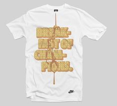 Nike Sportswear Art & Design by D. Kim #waffles #tshirt #apparel #shirt