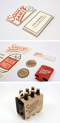Saucy Sam's by Alex Register #inspiration #design #graphic #professional #quality