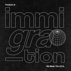 We Made The U.S.A. #roscoflevo #jensanchez #bradfuture #wethemus #art #design #agency #branding #productofimmigration #america #immigration #poc #madeintheusa #graphic