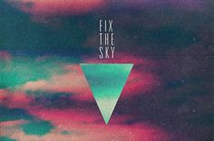 Random Graphics - Lukas Haider - Graphic Design, Photography & Cinematography. #sky #the #simple #triangle #colors #fix #condensed #typography