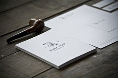 Joiner & Tuft on Behance #joinerandtuft #image #wood #brand #corporate #identity #pipe