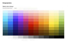 WANKEN - The Blog of Shelby White » Making of Designspiration.net #designinspiration #colors