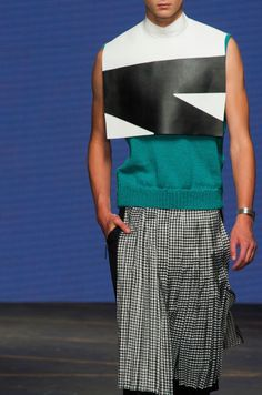 "monsieurcouture: "" Nicomede Talavera S/S 2015 Menswear """