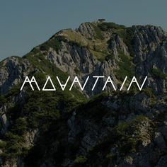 http://24.media.tumblr.com/tumblr_m9gb85awAA1qz5pomo1_500.png #mountain #typography