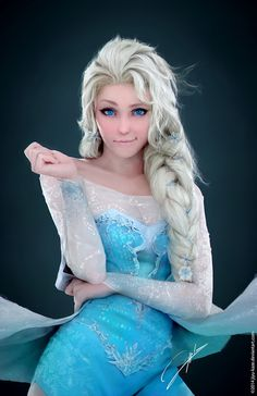 Elsa #girl #3d #elsa #princess