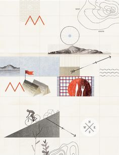 Editorial Illustrations - Luke Fenech / Design + Direction / Bench.li #book