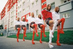 Fashion Photography by Michal Pudelka