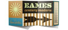 modern, mid-century, eames, typography, house industries