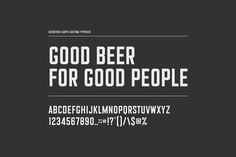 Scorched Earth Brewing Font Design by Knoed Creative