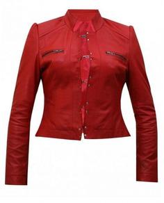 Wrestler Živilė Raudonienė Red Jacket
