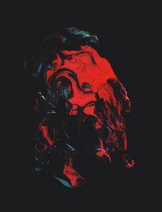 arborvitae #red #black #psycadelic