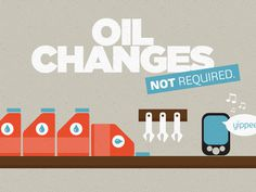 Oil changes Not required illustration #infographic #texture #illustration