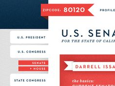 Interior dribbble #political #design #web #interface