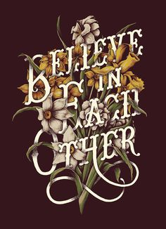 Final design #lettering #plants #illustration #drawn #vintage #hand #flowers #typography