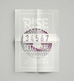 Rise Festival on Behance #poster #rise #frstival #music #rock #elia #pirazzo #padua #padova