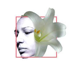 Feminine Image Manipulation by Instagram user @collaborativesouls #feminine #floral #pink #woman #photomanipulation
